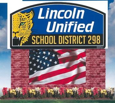 USD 298 Lincoln LED Sign Project