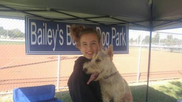 Bailey's Barking Small Dog Park Area