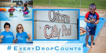 #EveryDropCounts Osborne City Pool