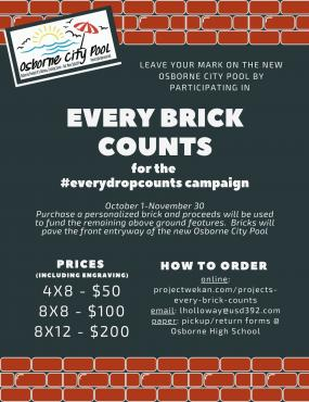 Every Brick Counts